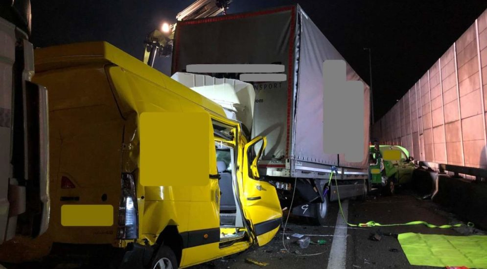 Unfall A1-Winterthur