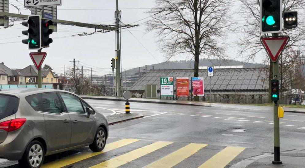 Winterthur ZH - Velo-Lichtsignale gestohlen