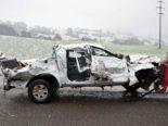 Schwerer Unfall Sachseln OW - Zwei Personen erheblich verletzt