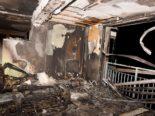 Grossaufgebot wegen Brand in Alpnach OW