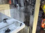 Brand in Netstal GL - Schwarzer Rauch aus Bahnhofshäuschen