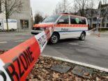 Zug ZG - Polizeieinsatz wegen Sprengstoff-Drohung