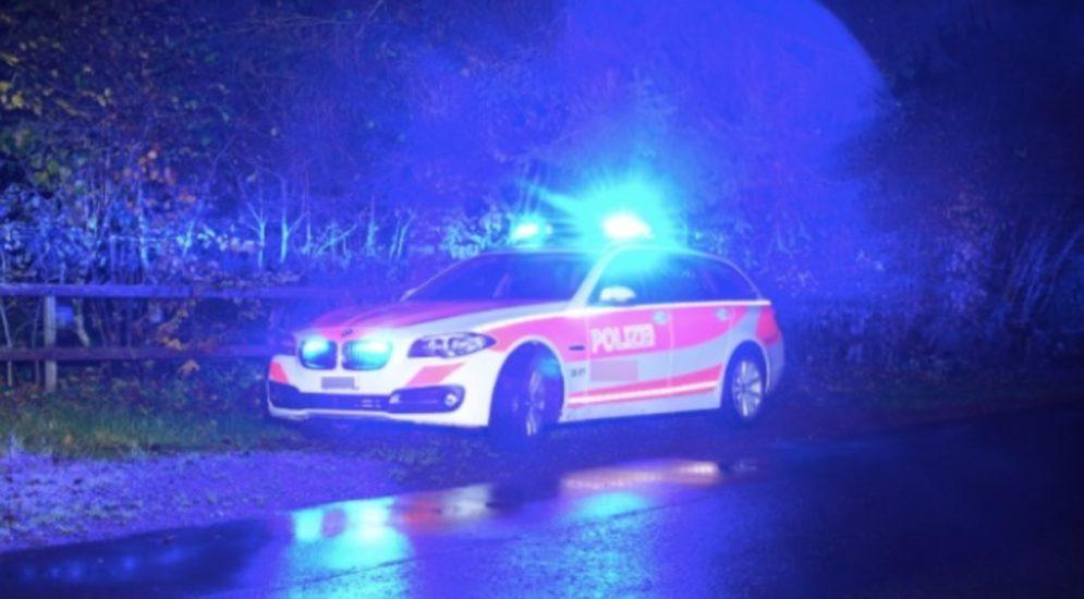 Goldau SZ - Geisterfahrer auf der A4