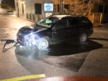 Unfall St.Gallen - 23-Jährige prallt in Tafel und läuft davon