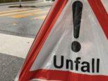 Unfälle Nidwalden NW - Lenker auf A2 mit Leitbaken kollidiert