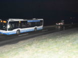 Unfall Kirchberg SG: Blaufahrerin prallt in Linienbus