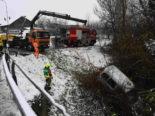 Kanton St.Gallen: Mehrere Unfälle nach Wintereinbruch