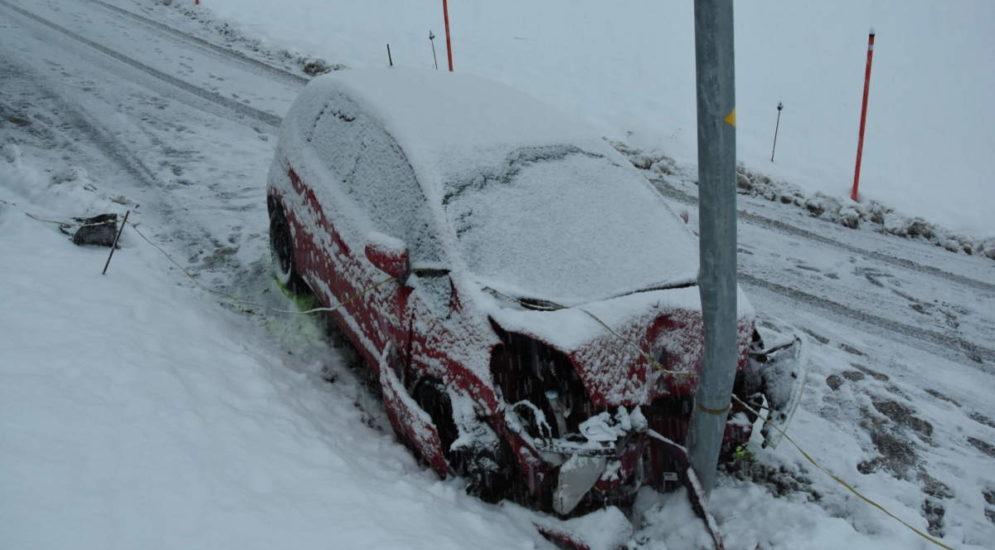 Unfall Kanton St.Gallen SG - Crash-Serie mit drei Verletzten