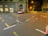 Unfall Stadt Luzern: Autolenker kracht mit 1,72 Promille in Gebäude