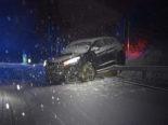 Wintereinbruch im Kanton Luzern: Über ein Dutzend Unfälle
