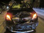 Näfels GL: Zweimal Totalschaden nach Unfall