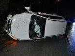 Unfall in Hüniken SO - Kontrolle über Auto verloren