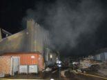 Büsserach SO: Brand in Industriegebäude