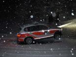 Unfall Beinwil SO - Patrouillenfahrzeug gegen Mauer gekracht