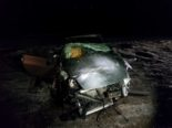 Unfall Matran FR - Fahrer aus Auto geschleudert und verletzt