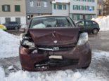 Stein AR - Auffahrunfall fordert zwei Verletzte