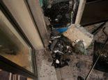 St.Gallen SG - Grill führt zu Brand auf Balkon