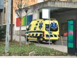 Unfall Kanton BL - Vier Velolenker auf vereister Fahrbahn gestürzt