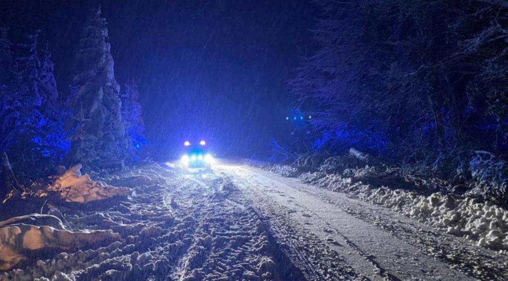 Schneechaos im Kanton Aargau: 1`300 Notrufe, mehr als 60 Strassen gesperrt