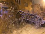 Zürich - Massives Einsatzaufkommen durch heftige Schneefälle