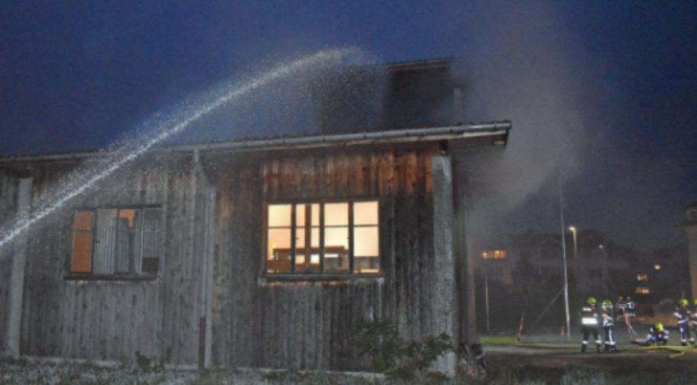 Buttisholz LU - Vier Jugendliche wegen Vandalismus und Brandstiftung ermittelt