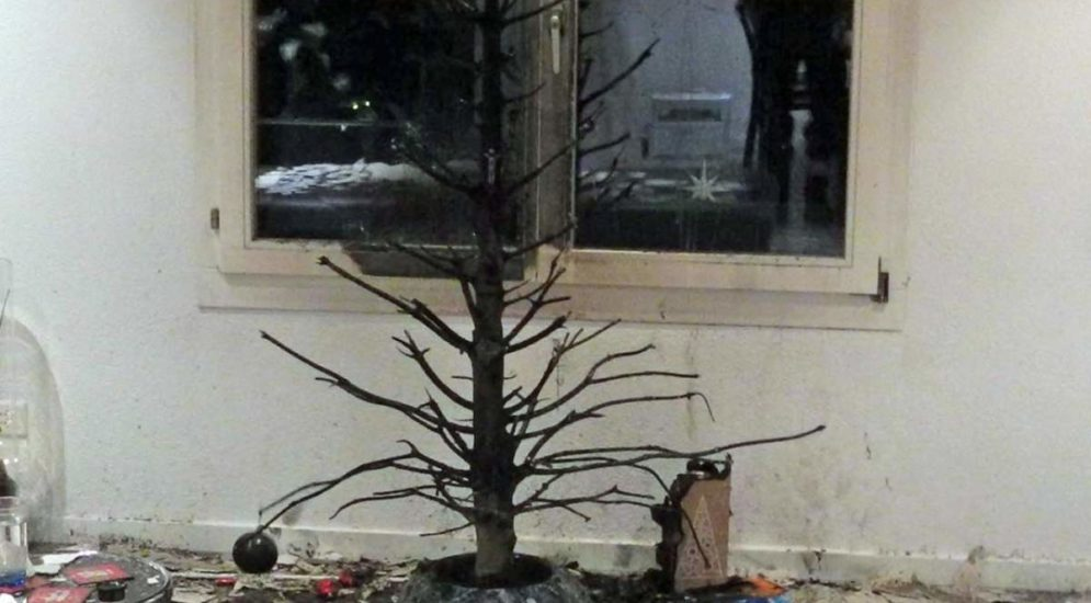 Altendorf SZ: Zwei Personen nach Christbaumbrand im Spital