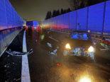 Emmenbrücke LU - Verkehrsunfall auf der A2