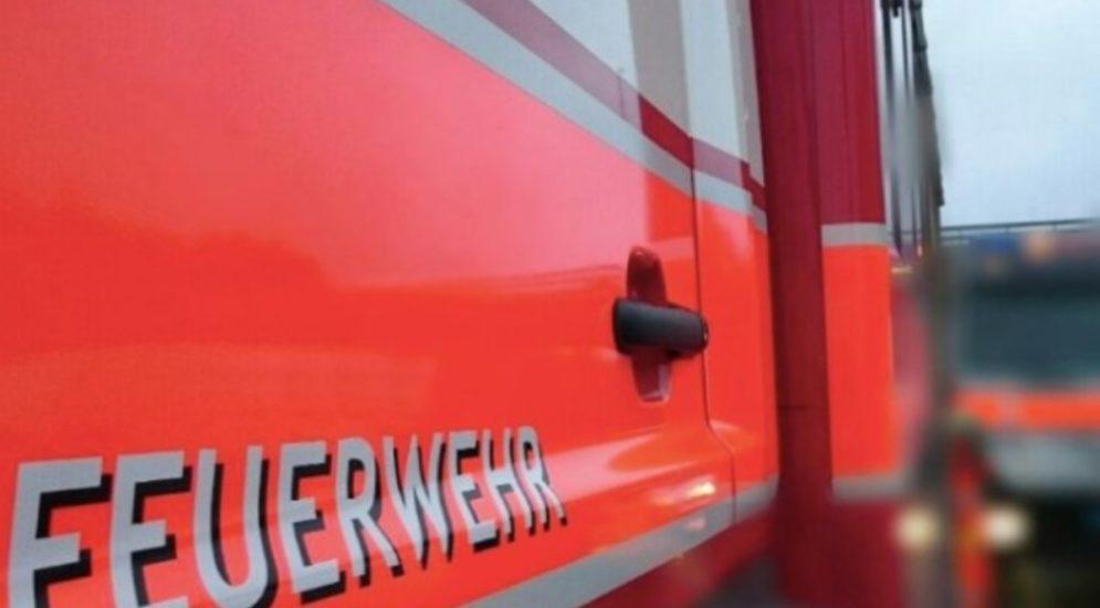 St.Gallen - Kabelbrand bei Tankstelle