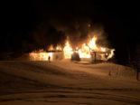Hildisrieden LU - Millionenschaden nach Brand im Golfclub Sempach
