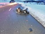 Unfall Jonschwil: Vortritt missachtet: Crash zwischen Auto und Motorrad