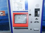 Kaltbrunn SG - Billett-Automat zerstört