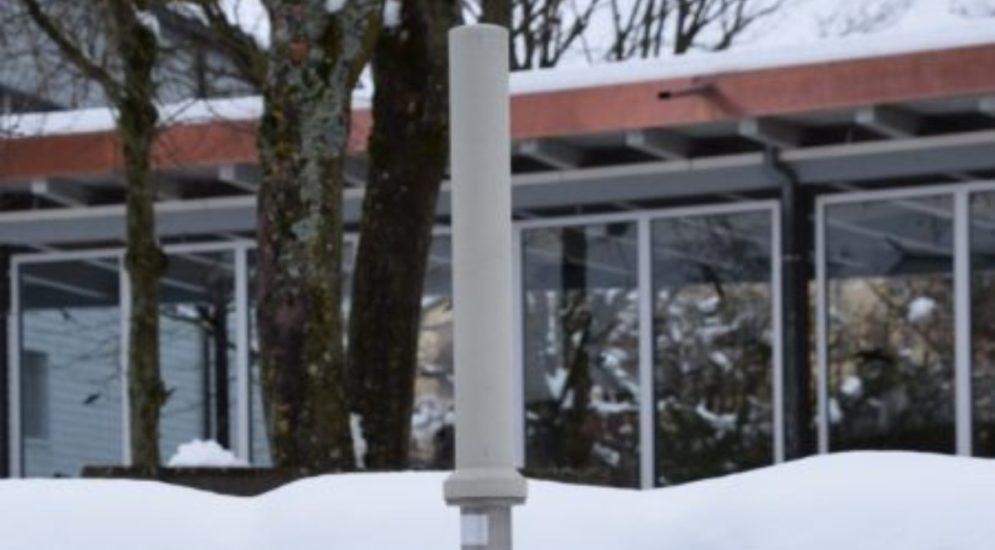 Schweiz - Schneefall führte zu einem leichten Anstieg der Radioaktivität