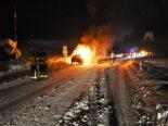 Niederuzwil SG - Auto in Brand geraten