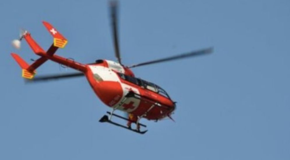 Mettmenstetten ZH: Bauarbeiter nach Unfall schwer verletzt