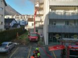 Brunnen SZ: Balkonbrand in Mehrfamilienhaus