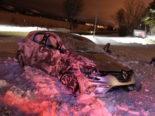 Unfall Schwarzenbach SG: Fahrunfähiger Lenker (26) überschlägt sich mehrfach