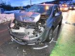 Tübach: Unfall trotz Vollbremsung