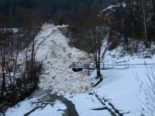 Kanton Uri: Erneuter starker Schneefall
