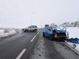 Kottwil LU: Unfall zwischen zwei Autos