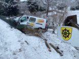 Ueken AG: Am Steuer eingenickt und Unfall gebaut