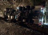Unfall Thayngen SH: Milchtransporter kommt von der Strasse ab