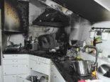 Uzwil SG - Zwei Verletzte bei Küchenbrand