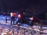 Unfall Neuhausen am Rheinfall SH: 19-Jähriger landet in Böschung