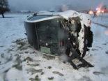 Kanton Glarus: Diverse Unfälle und prekäre Strassenverhältnisse