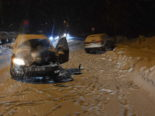 Unfall in Walenstadt SG: Frontalkollision zwischen zwei PW