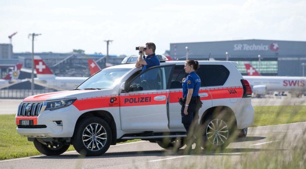 Flughafen Zürich: über eine Tonne Drogen sichergestellt
