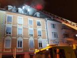 Zürich - Wohnungsbrand im Kreis 11