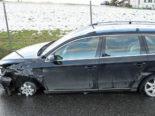 A2, Kriens LU: Betrunkener Autofahrer verlässt Unfallstelle