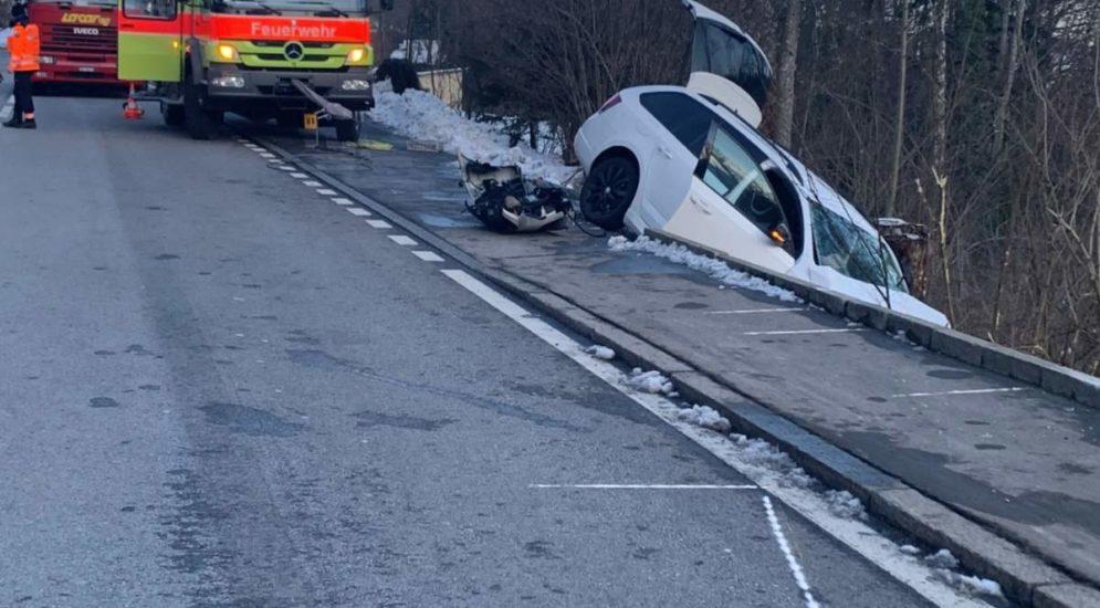 Hirzel: Unfall fordert zwei Verletzte