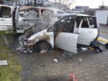 Luterbach SO: Ford geht in Flammen auf, weitere Autos beschädigt